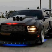 new knight rider car