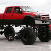 Sky High Ford F350