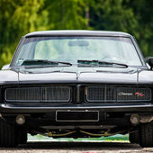 Black 1969 Dodge Charger R/T