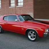 1971 Chevrolet Chevelle Custom Coupe