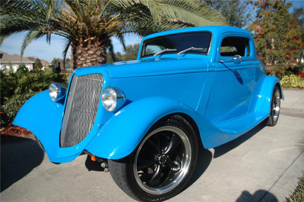 1934 ford 3 window custom 2 door coupe for 1934 ford 3 window coupe custom