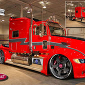 One of Peterbilt trucks