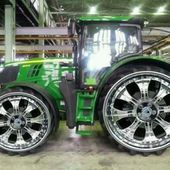 Pimped out John Deere Tractor