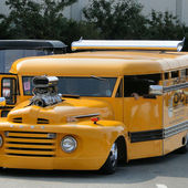 Supercharged School Bus!