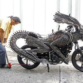 Awesome Alien-Predator bike