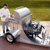 HEMI-Powered BBQ Grill