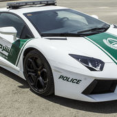 The Dubai Police are getting a Lamborghini