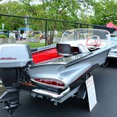 1959 Chevy and matching boat