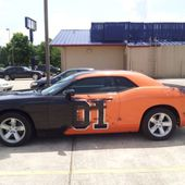 Cool paint job on a new Challenger