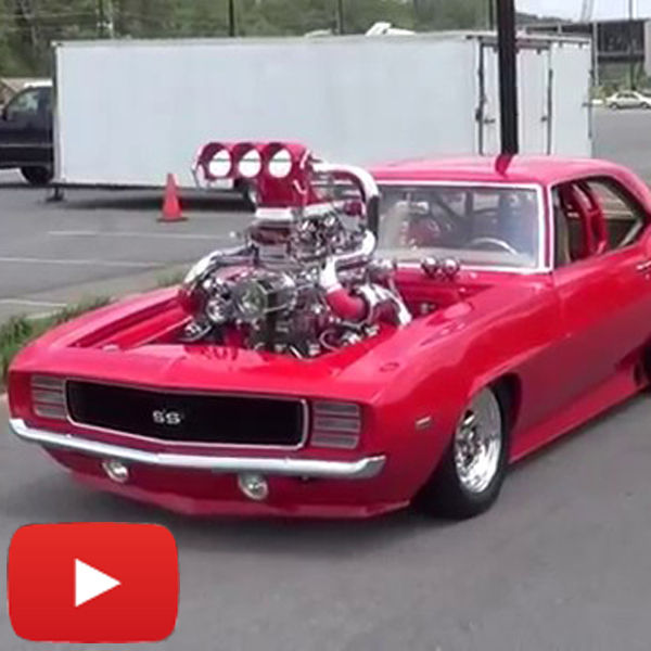 Video Blown 69 Camaro Ss Twin Turbo