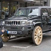 Hummer H3 With 32 Inch WAGON Wheels!
