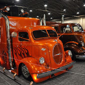Cool hot rod hauler