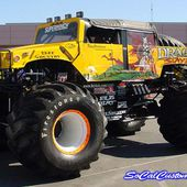 Crazy extreme modified Hummer