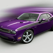 2010 Challenger R/T and SRT8 Plum Crazy