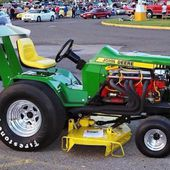 Lawn Mower Drag Racing