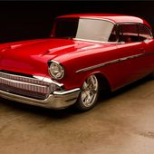 1957 CHEVROLET BEL AIR CUSTOM 2 DOOR COUPE