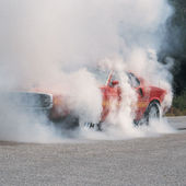 1970 Ford Shelby Mustang GT500 Burnout