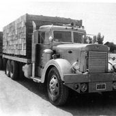 1940's Peterbilt Truck and trailer