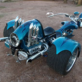 Porsche 911-Powered Trike