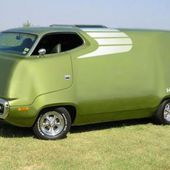 1971 Plymouth Road Runner van.