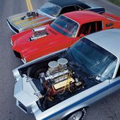 70S And 80S Muscle cars