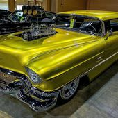 1956 Cadillac Coupe Deville Pro Street Badillac