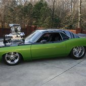 1971 Plymouth Barracuda Coupe