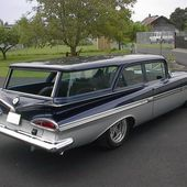 A 1959 Chevy Station Wagon
