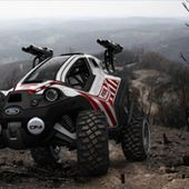Zombie Apocalypse scout vehicle!