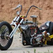 Hot Dream custom bike