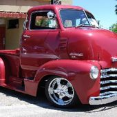 1949 Chevy C.O.E. heavily customized