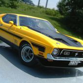 1971 AutoArt Ford Mustang Mach 1 351 Fastback