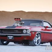 Blown 1970 Dodge Challenger R/T