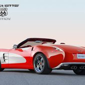 This Corvette Route 66 Edition is magnificent