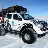 Hilux 6x6 ready for a spin in the arctic.