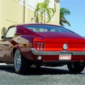 1968 Mustang Fastback - Red Candy Apple