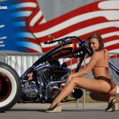 Tuning Santiago Chopper 'Lucky 7' - Trike