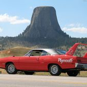 Plymouth Roadrunner Superbird.