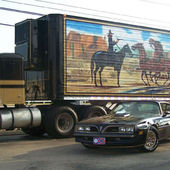 74 Kentworth W900A and Trans am