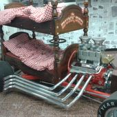Hot rod bed