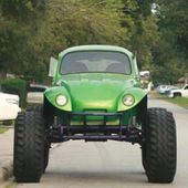 off road green beetle