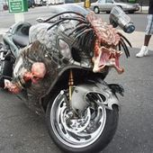 Wednesday, January 20, 2010 Suzuki Hayabusa Turned into Awesome Predator Bike