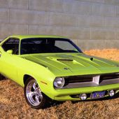 1970 Plymouth 'Cuda 440 Coupe
