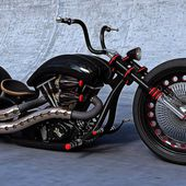 Wicked Custom Bike