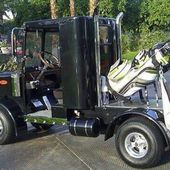 My kind of golf cart.