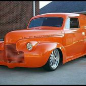 1940 Chevrolet Sedan Delivery Panel Truck LT1