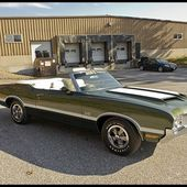 1970 Oldsmobile 442 Convertible 455 CI