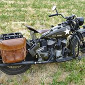 U.S. Army Motorcycle