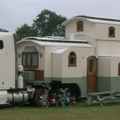 Ultimate RV house on wheels