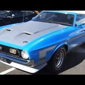 1971 Boss 351 Ford Mustang Sportsroof